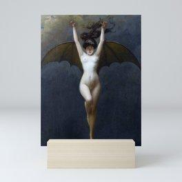 THE BAT WOMAN - ALBERT JOSEPH PENOT Mini Art Print