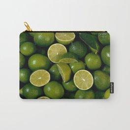 Limet Lemon Fruits Carry-All Pouch