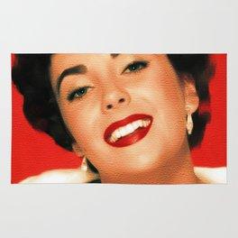 Elizabeth Taylor, Hollywood Legend Rug