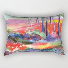 Enchanted Forest II Rectangular Pillow