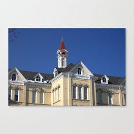 Grand Traverse Commons Roof Canvas Print