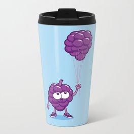 Grapes With Balloons Metal Travel Mug