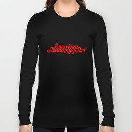 American Academy of Art 1980's Logo. Long Sleeve T-shirt