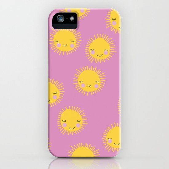 Little sunny sunshine love summer sky girls pink iPhone ...