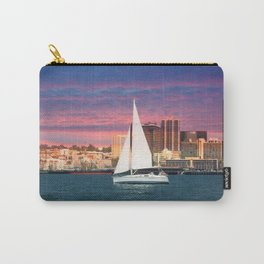 Evening Sail ~ San Diego Bay ~ California Carry-All Pouch