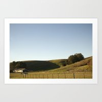 Country Side Art Print