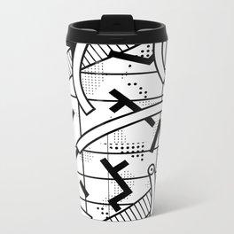 8 bit Metal Travel Mug