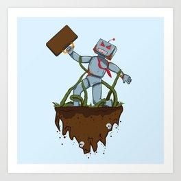 Dave Bot Art Print