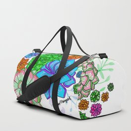 Saturated Succulents Duffle Bag