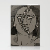 goddess Stationery Cards featuring Goddess by MOBERG DESIGN