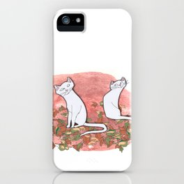 October Cats iPhone Case