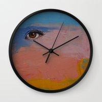 gypsy Wall Clocks featuring Gypsy by Michael Creese