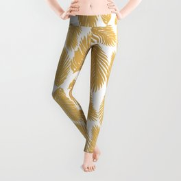 Golf Leaf Pattern Leggings