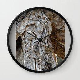 wood skin Wall Clock