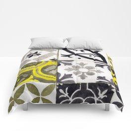 JD_tiled floor1–gouache Comforters