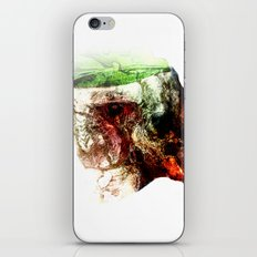 Open Skull iPhone & iPod Skin