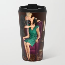 raven in a gilded cage Travel Mug