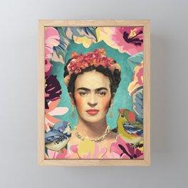 Frida Kahlo V Framed Mini Art Print