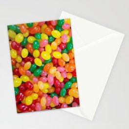 Rainbow Jelly Beans Stationery Cards