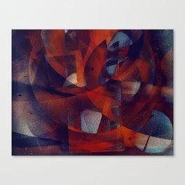 disquiet twenty seven (alma em tumulto) Canvas Print