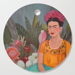 Frida a la casa azul Cutting Board