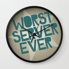 Worst Server Ever Wall Clock
