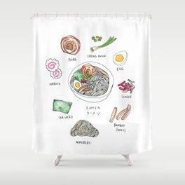 Ramen Shower Curtain