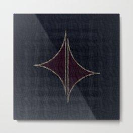 Geometric BP Metal Print