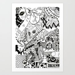 First Creation Art Print