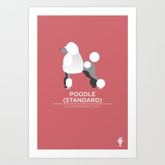 Standard Poodle Art Print