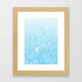 Yarn Ball Pit Framed Art Print