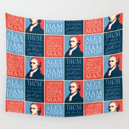 Alexander Hamilton Quotes Wall Tapestry