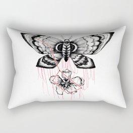 mothblossom Rectangular Pillow