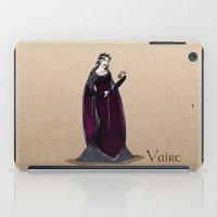 valar morghulis iPad Cases featuring Vaire by wolfanita