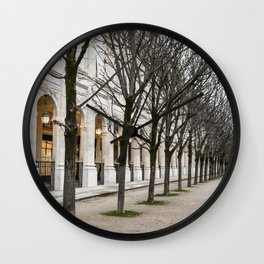 Day In Paris Wall Clock