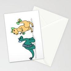 Dino-Mite Gal Stationery Cards