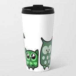 All is Owly (green) Travel Mug