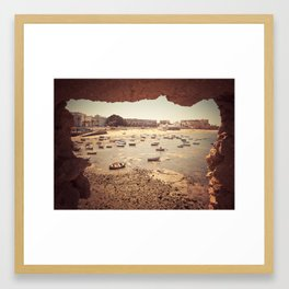 Fortress in Cadiz, Spain Framed Art Print
