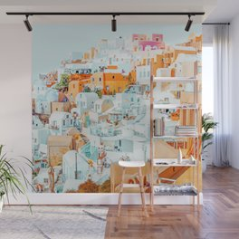 Santorini Vacay #photography #greece #travel Wall Mural
