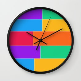 Patched Together Wall Clock