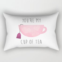 You're My Cup Of Tea Rectangular Pillow