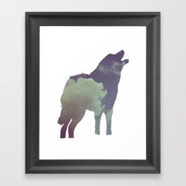 The Wolf (Jannika Edition) Framed Art Print