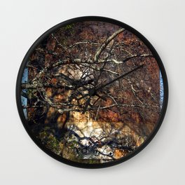 Rusted and Forgotten Wall Clock