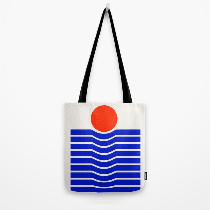 Going down-modern abstract Tote Bag