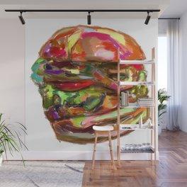 Hamburger Rainbow Wall Mural