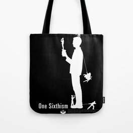 One Sixth Ism (White Statue) Tote Bag
