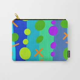 Party Time / Blue Carry-All Pouch