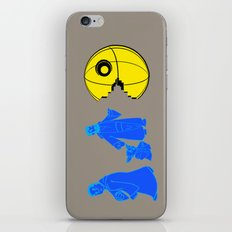 Thats no moon its a... oh hell run!! iPhone & iPod Skin