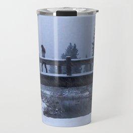 Bridge to Snow-where Travel Mug