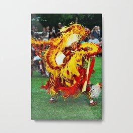 Dance Off Metal Print